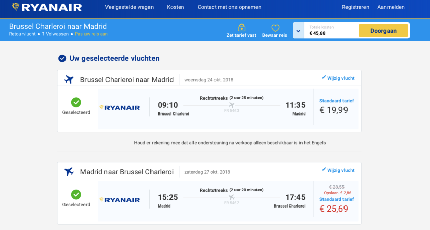 Madrid-Ryanair