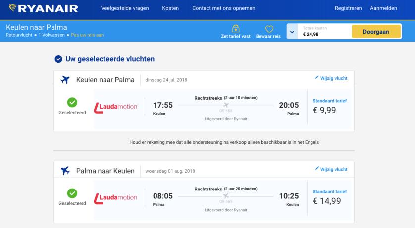 Ryanair-Palma