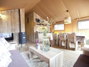Tent lodge Egmond aan Zee