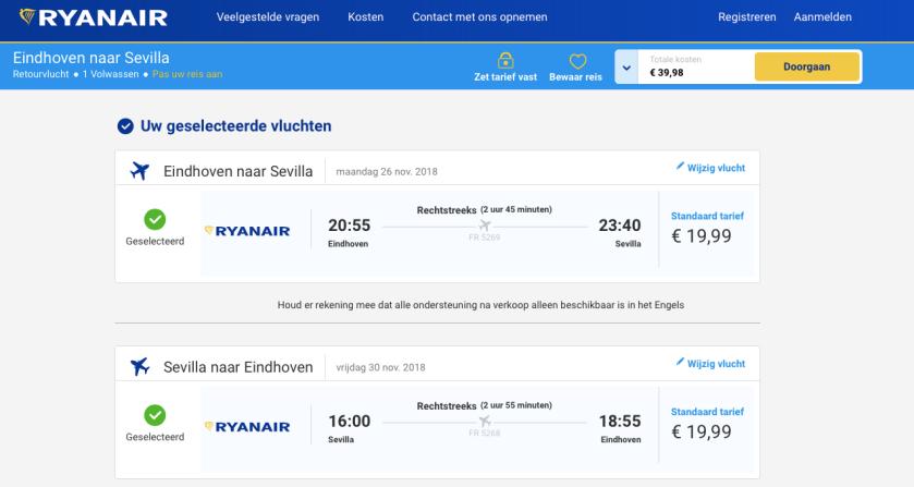 Sevilla-Ryanair
