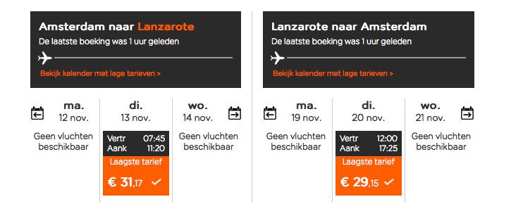 Lanzarote-Easyjet